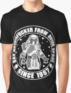 Bad Mofo from Outer Space Graphic T-Shirt