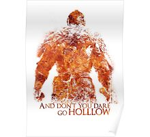 Don't Dare go Hollow - Flame Poster