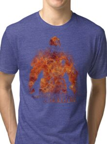 Don't Dare go Hollow - Flame Tri-blend T-Shirt