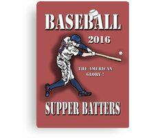Baseball -Super Batters-2016 Canvas Print