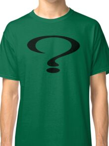 Too Many Questions Classic T-Shirt