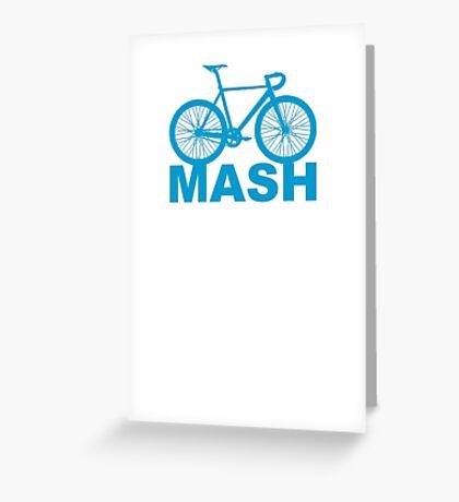 Fixie Mash Bike Greeting Card
