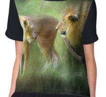 Lions - Wild Attraction Chiffon Top