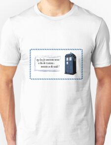 My love for Doctor Who is like the TARDIS T-Shirt