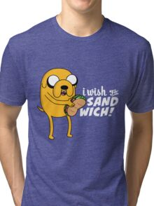I wish for a sandwich Tri-blend T-Shirt