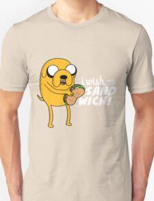 I wish for a sandwich Unisex T-Shirt