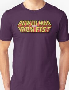 Power Man & Iron Fist - Classic Title - Dirty T-Shirt
