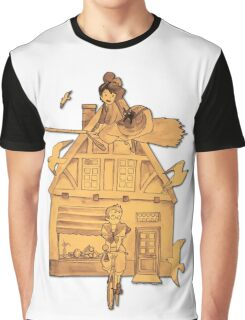 Kiki's Delivery Service Graphic T-Shirt