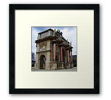 Arc de Triomphe de Carrousel Framed Print