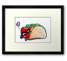 Chimichangas  Framed Print