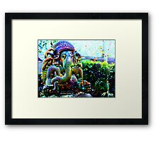 We Are the Heroes Framed Print