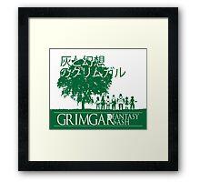 Grimgar of Fantasy & Ash Framed Print