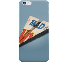 MAD Paper Airplane 147 iPhone Case/Skin