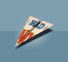 MAD Paper Airplane 147 by YoPedro