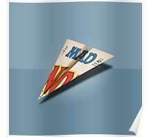 MAD Paper Airplane 147 Poster