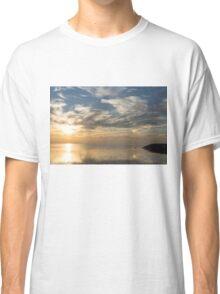 Blinding Bright Sunrise with a Sundog Classic T-Shirt