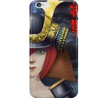 Pin Up Samurai iPhone Case/Skin