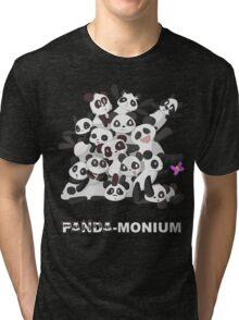 PANDA-monium Tri-blend T-Shirt