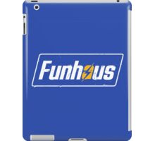 Funhous | Logo | Blue Background | High Quality! iPad Case/Skin