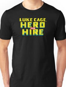 Luke Cage: Hero For Hire - Classic Title - Clean Unisex T-Shirt