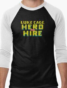 Luke Cage: Hero For Hire - Classic Title - Dirty Men's Baseball ¾ T-Shirt