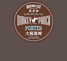 Boxing Cat Brewery Donkey Punch Porter Chinese Beer Unisex T-Shirt