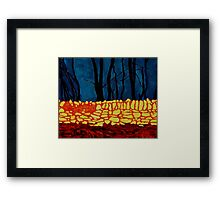 Carrigtwohill Wall, Cork Framed Print