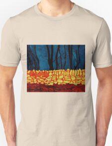 Carrigtwohill Wall, Cork Unisex T-Shirt