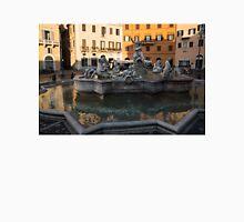 Neptune Fountain - Piazza Navona, Rome, Italy Unisex T-Shirt