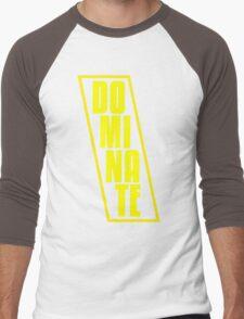 DOMINATE Men's Baseball ¾ T-Shirt