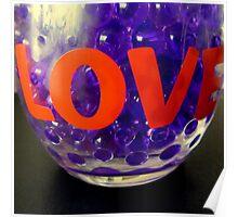 Purple love Poster
