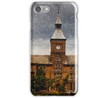Coney hill hospital in the snow iPhone Case/Skin