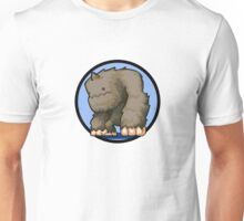 Brown yeti maplestory Unisex T-Shirt
