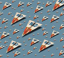 MAD Paper Airplane 147 Pattern by YoPedro