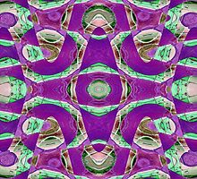 Purple abstract by donnagrayson