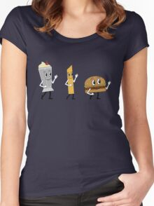 Let's All Go to the Diner Women's Fitted Scoop T-Shirt