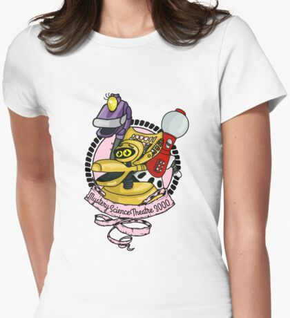 Mystery Science Theatre 3000 Womens Fitted T-Shirt