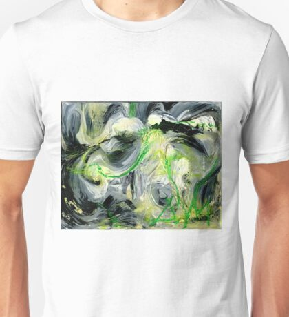 Green Water Cave - Original acrylic painting on Canvas  Unisex T-Shirt