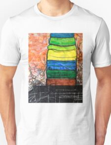 Piled Color T-Shirt