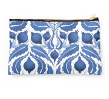 Uzbek inspired blue pattern Studio Pouch