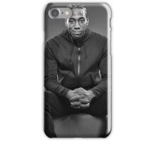 Kawhi Modelling Fashion Clothes iPhone Case/Skin