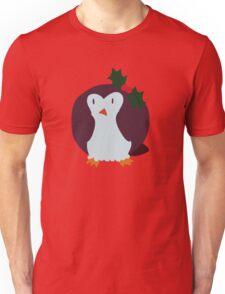 Mistle Toe Penguin Unisex T-Shirt