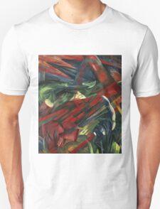 Franz Marc - Animals In A Landscape .German Landscape Unisex T-Shirt