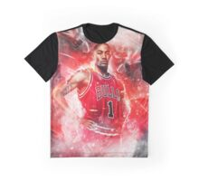 Derrick Rose - Behind The Back Pass Graphic T-Shirt