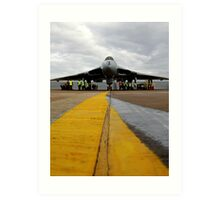 The Vulcan bomber Art Print