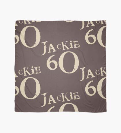 Brown Jackie 60 Logo Wear Scarf