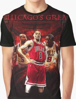 Greatest Players In History Graphic T-Shirt