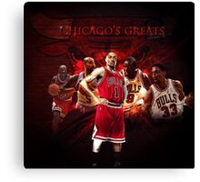 Greatest Players In History Canvas Print