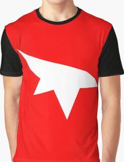Mirrors Edge Minimalist Logo -White Graphic T-Shirt