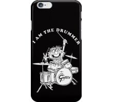 ANIMAL I AM THE DRUMMER iPhone Case/Skin